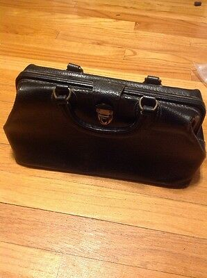 Vintage Schell Leather Doctors Medical House Call Bag 5681 71422