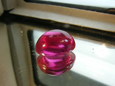 35.00 Cts Lab Grown Syntehtic Pink Corundum Ruby Cabochan Very Fine