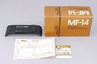 -Almost Unused- Nikon MF-14 Date Back for F3 F3P F3HP from Japan 163
