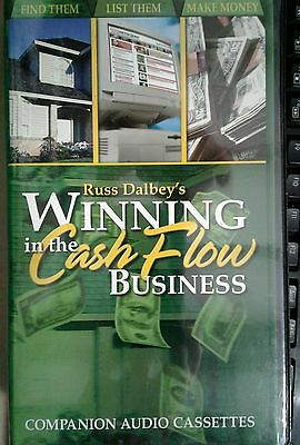 Russ Dalbey`s In The Cash Flow Set Of 4 Audio Cassettes