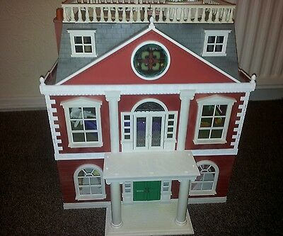 Huge Sylvanian Families Grand Mansion House dolls Family Furniture Vintage