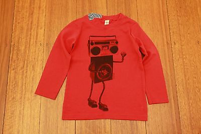 SOSOOKI SOOKIBaby Boys Stereo Long Sleeve T-Shirt - Size 4