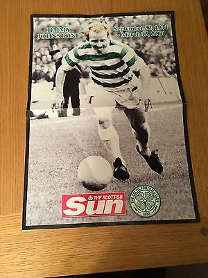 Jimmy Johnstone 2006 Poster  Celtic