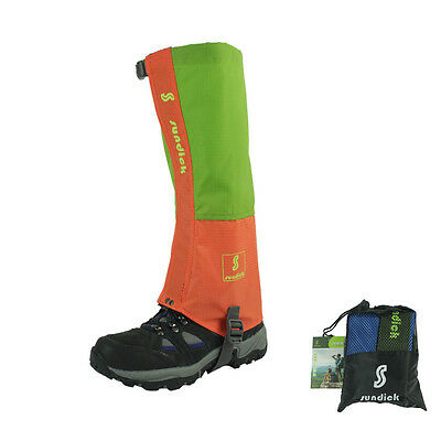 Mothproof Mountaineering Gaiter Breathable Snow Gaiters Hiking Waterproof Gaiter