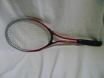 Red Badminton Bat, Great for anyone who loves playing Badminton.