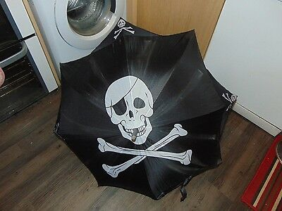 Umberella with Fantastic Skull Design on it. Suitable for Teenagers or Children
