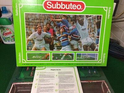 Vintage Subbuteo Set - COMPLETE - With extras VGC - Collectable