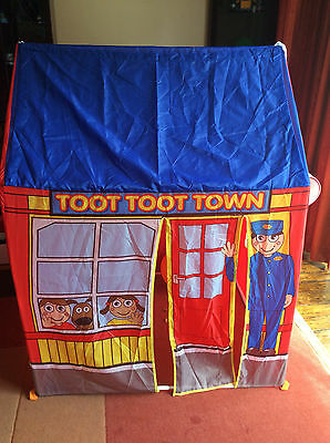 Toot Toot Town Play Tent