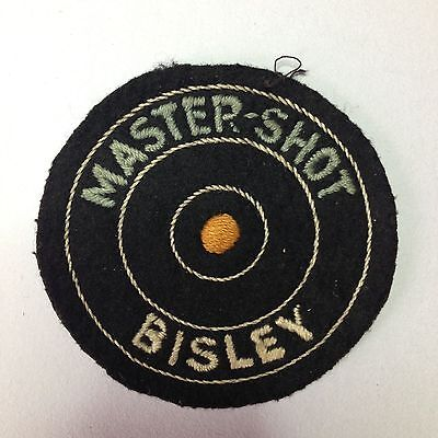 Collectable Bisley Master-Shot Rifle Shooting Patch.