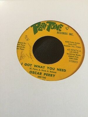 Northern Soul - Oscar Perry - I Got What You Need