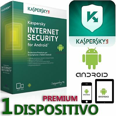 Kaspersky Internet Security Premium 2017 -per Smarphone Android / Tablet Android