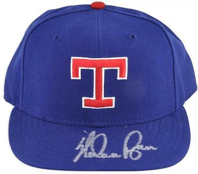 Nolan Ryan MLB Texas Rangers Autographed Hat Fanatics Authentic Certified