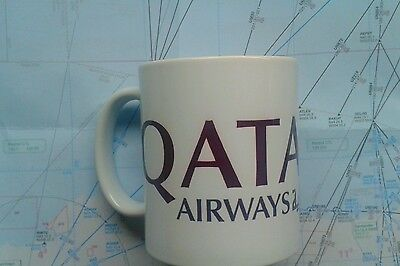 Qatar airways pilot mug coffee mug Qatar Doha