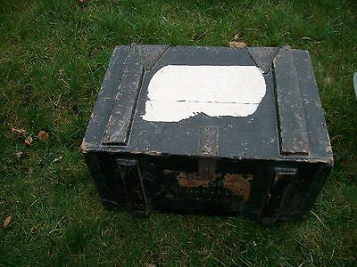 Antique pine tool trunk chest blanket box French original