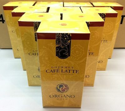 LIMITED TIME ONLY - 10 Box Organo Gold Gourmet Cafe Latte EXPRESS