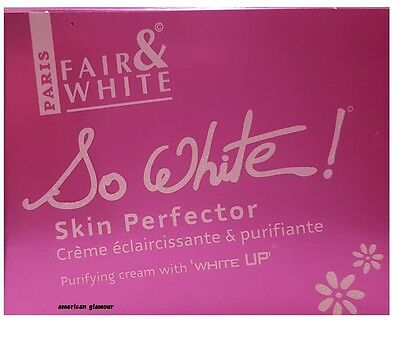 Fair & White So White Skin Perfector Purifying Cream with WHITE UP  250ml