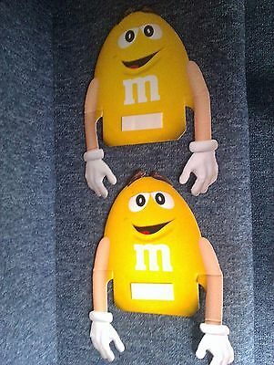 M&m Window-Stickers X 2 .. Advertising Your Favourite Sweets!