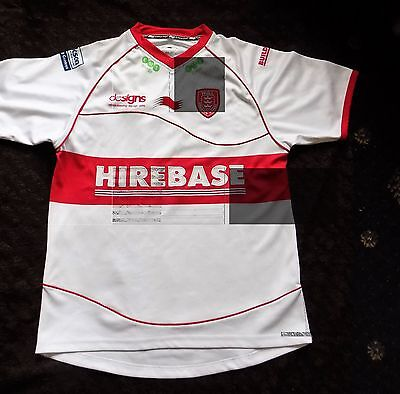 Mens Hull KR Kingston Rovers Rugby League Shirt  Size Large
