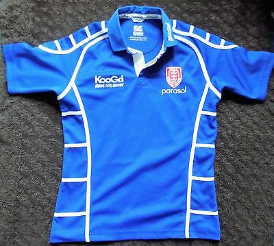 Mens Hull KR Kingston Rovers Rugby League Shirt  Size Small Adult