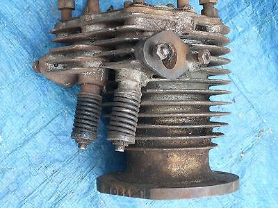 Side Valve Barrel With Sloping Angle Tappets - Possibly Motorcycle Or Stationary