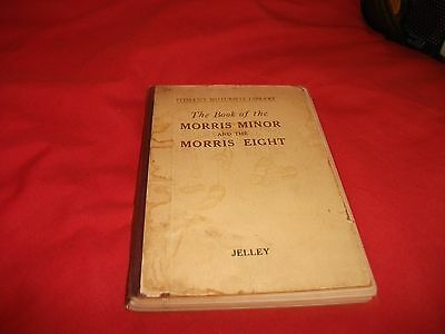 Pitmans Manual / Handbook 1936 2Nd Edition - The Book Of The Morris Minor And 8