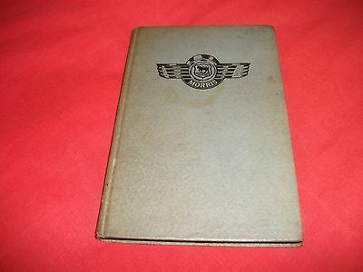 Morris Cars - Pearson Manual / Handbook 1958 2Nd Edition All Models From 1934