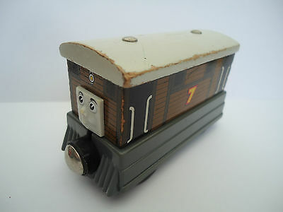 Thomas the Tank Engine Wooden Railway 'TOBY' Combined P&P Available