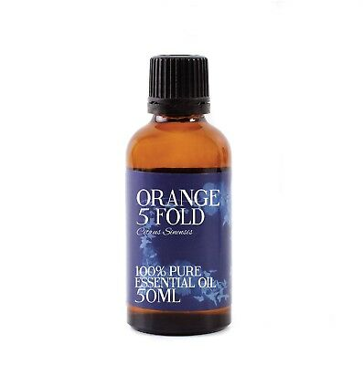 Mystic Moments | Orange 5 Fold Essential Oil - 100% Pure - 50ml (EO50ORAN5FOLD)