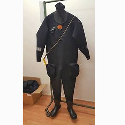 Otter Classic Commercial Neoprene Drysuit - XL Size 9 Boots
