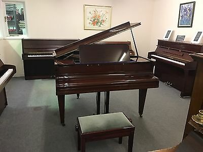 Stunning High Gloss Hopkinson Baby Grand. Immaculate Condition.