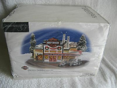 DEPT 56 - SV - HARLEY DAVIDSON MANUFACTURING - NEW - Original Wrap + Seal