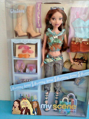 My Scene Shopping Spree Chelsea Barbie Doll Extra Outfit Jewelry New Rare