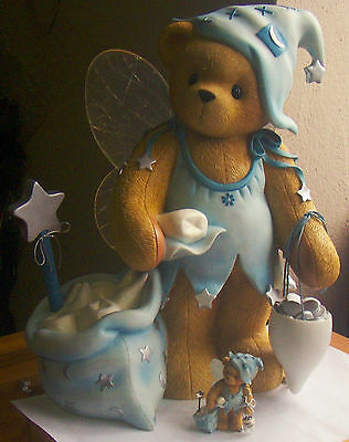 Cherished Teddies Wanda Statue 18 1/2 inches (RARE)
