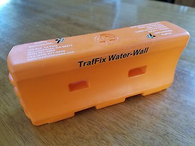 TrafFix Squishy Orange Water-Wall Safety Barrier