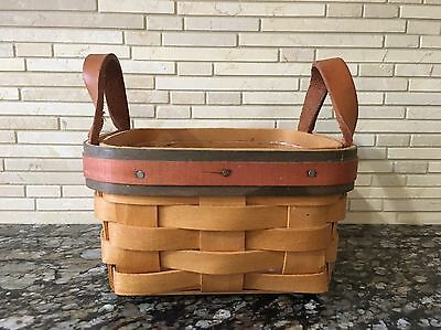 Longaberger 1999 Father's Day Tee Basket & Protector 14940 - Gently Used