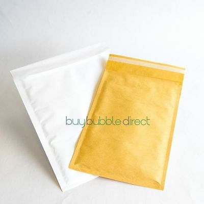 i) B GRADE Bubble Mailers Envelopes Featherpost Size D/1 approx 2400 (4 boxes)