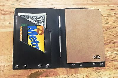 Leather Notebook Cover and Pen by Mr. Lentz