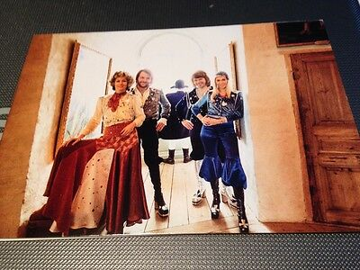 Abba Original Postcard Waterloo