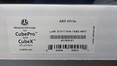 3D Systems Cube Pro / Cube X Cartridge 401406-01 ABS White