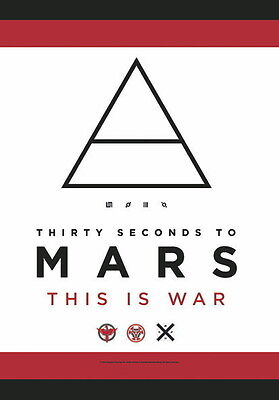 "30 Seconds To Mars Flagge / Fahne ""this Is War"" Poster"
