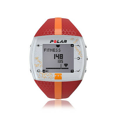 00 Polar FT7 Heart rate monitor Lady, Red/Orange