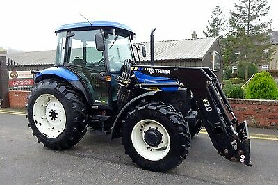 New Holland TD90D Loader Tractor 2008