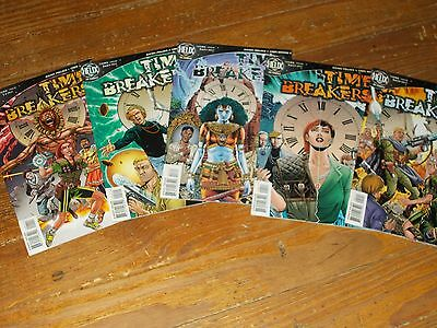 Helix Comics Time Breakers 1, 2, 3, 4, 5 comic book lot, collection
