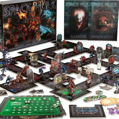 Space Hulk 2009/2014 Components (Counters, Tiles, Rooms, Corridors, etc..)