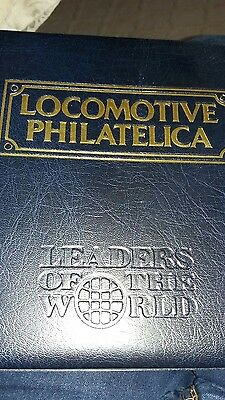 locomotive philatelica leaders of the world stamp collection