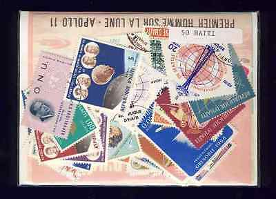 Haiti 50 timbres différents
