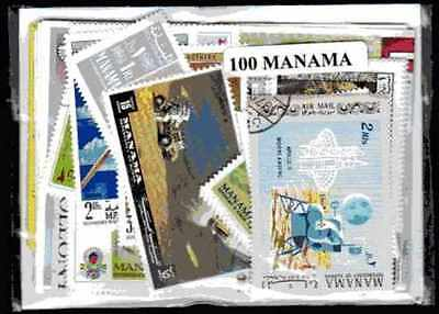 Manama 100 timbres différents