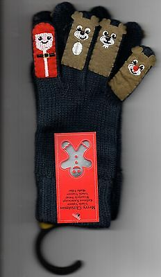 F & F Kids gloves with motifs. Aged 4 - 8 yrs Brand New.