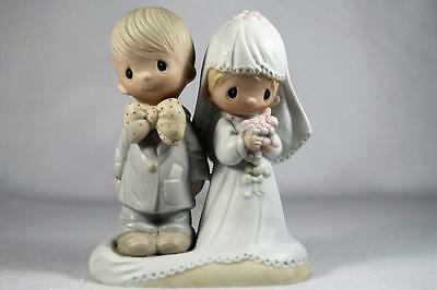 Precious Moments-Bride & Groom 'The Lord Bless You & Keep You' #E-3114