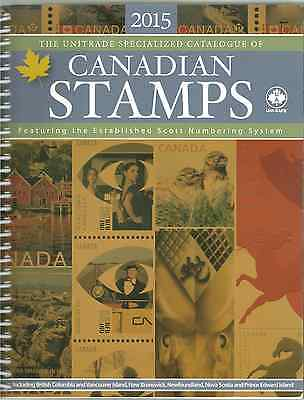 2015 Canadian Unitrade Specialized Stamp Catalogue